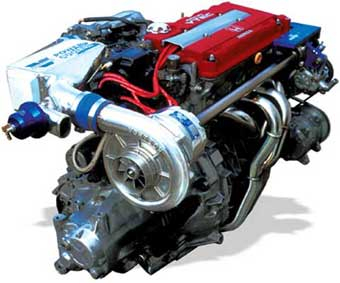 A Supercharged Acura Engine Turbocharger