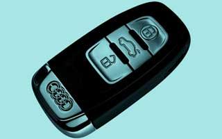 audi smart key