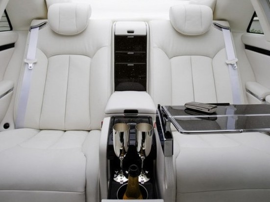 maybach rear seats