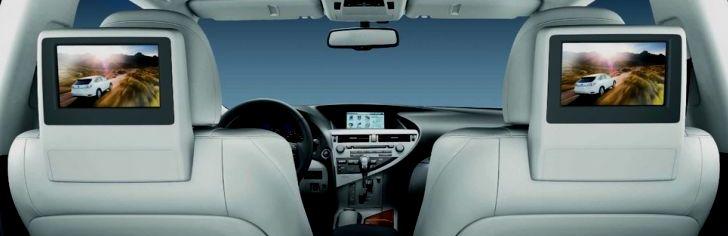 lexus rear seat entertainment